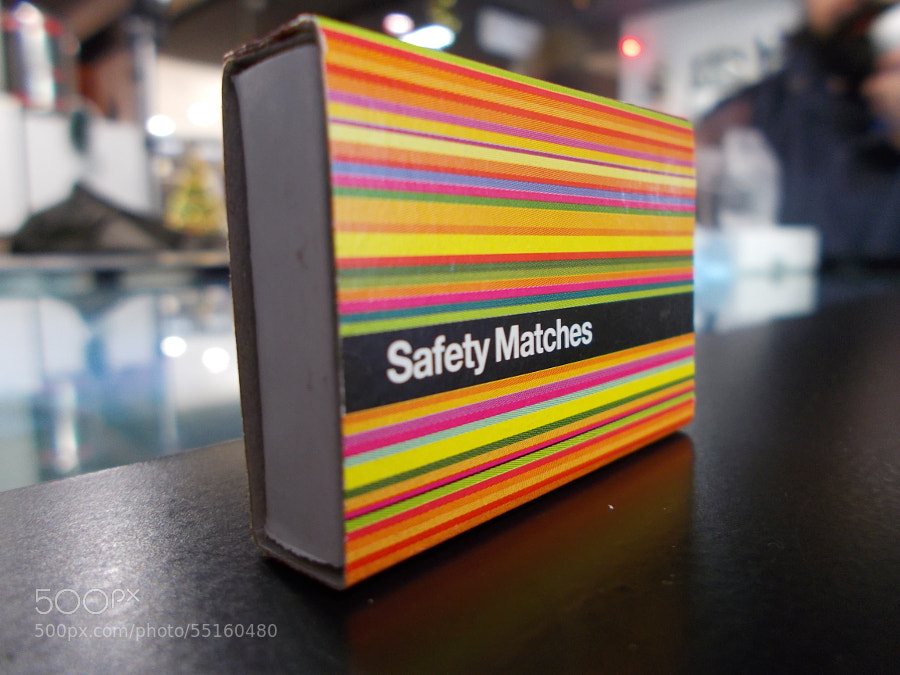 Photograph Safety Matches @ F64 Studio by Mihai Ioan on 500px