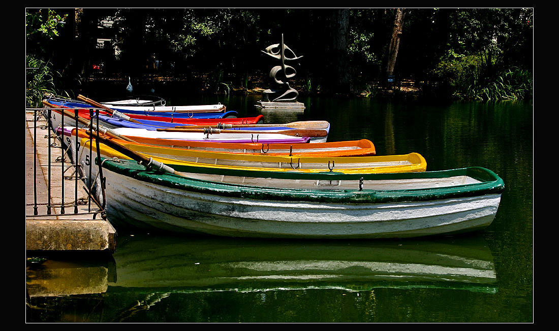 Photograph The color boats by Pedro Liborio on 500px