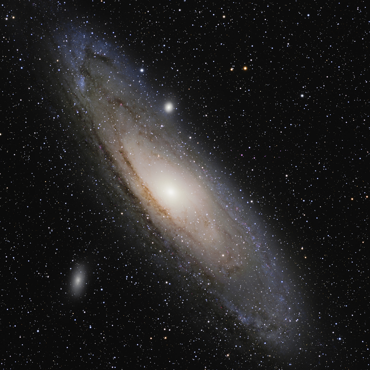 Photograph The Great Galaxy in Andromeda (M31) by Stuart Heggie on 500px