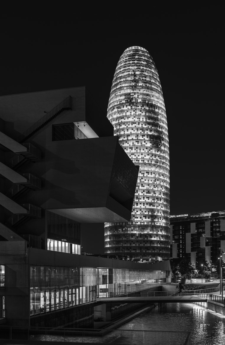 Photograph Agbar Tower in Barcelona by Liam Coburn Dunne on 500px