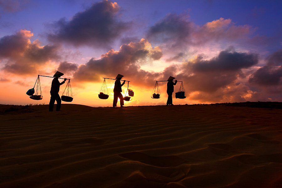 Photograph Evening Desert by Jeffry Surianto on 500px