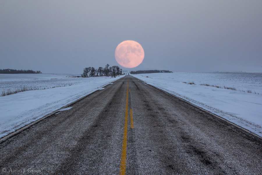 Highway to the Moon by Aaron J. Groen on 500px.com