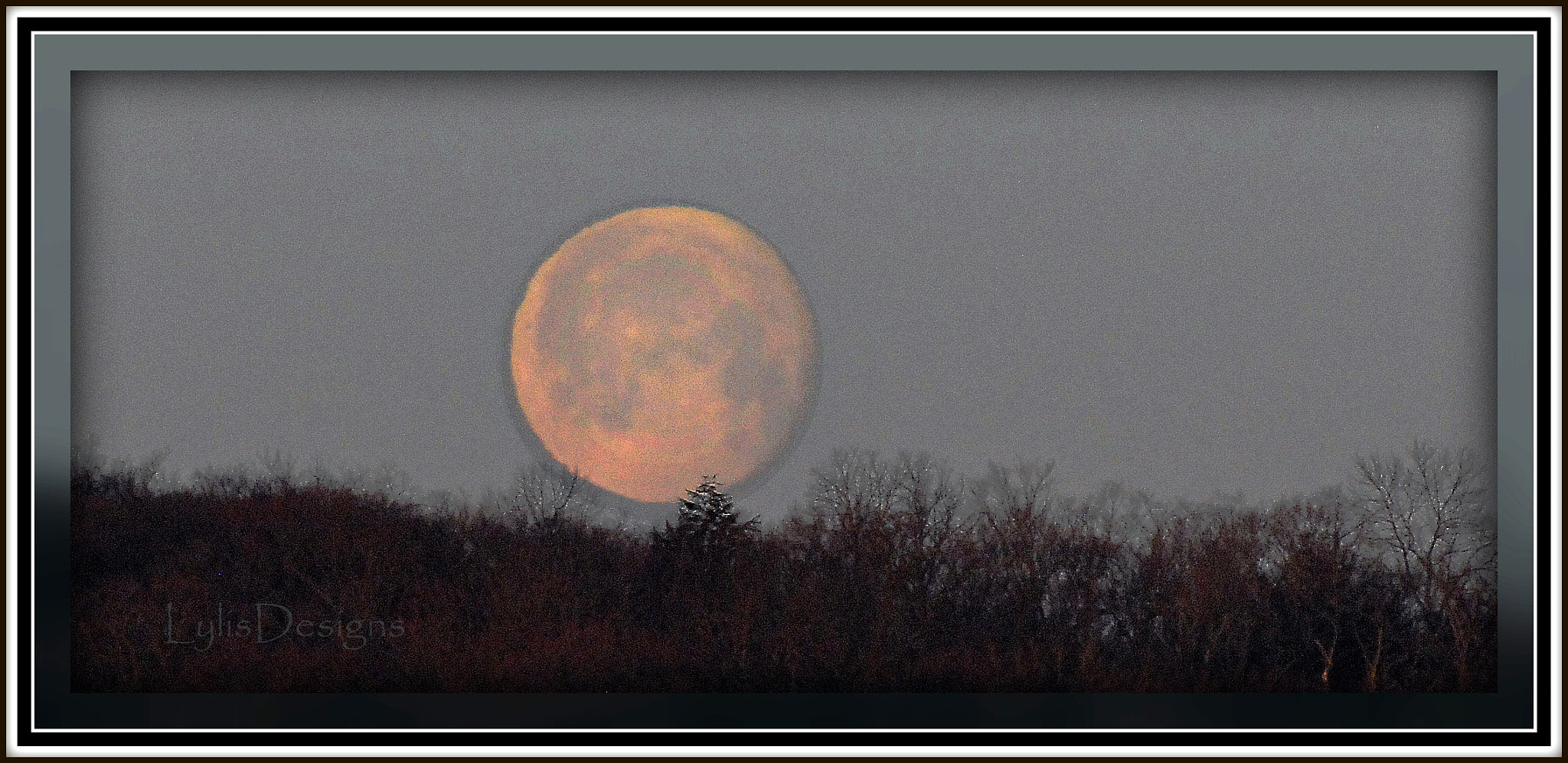 Photograph distant moonset by Lylis Designs on 500px