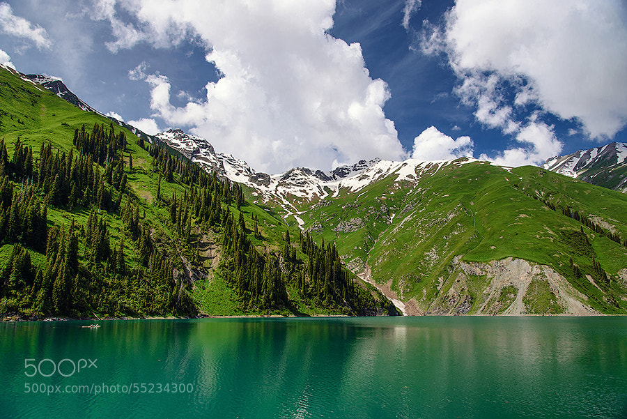 Photograph Lake Kel by Gennadii Zakirov on 500px