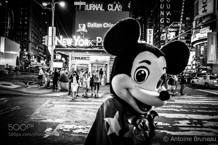 Photograph Mickey's Holiday by Antoine BRUNEAU on 500px