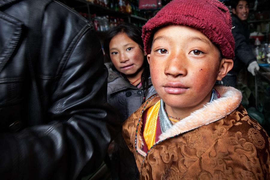 People in Tibet