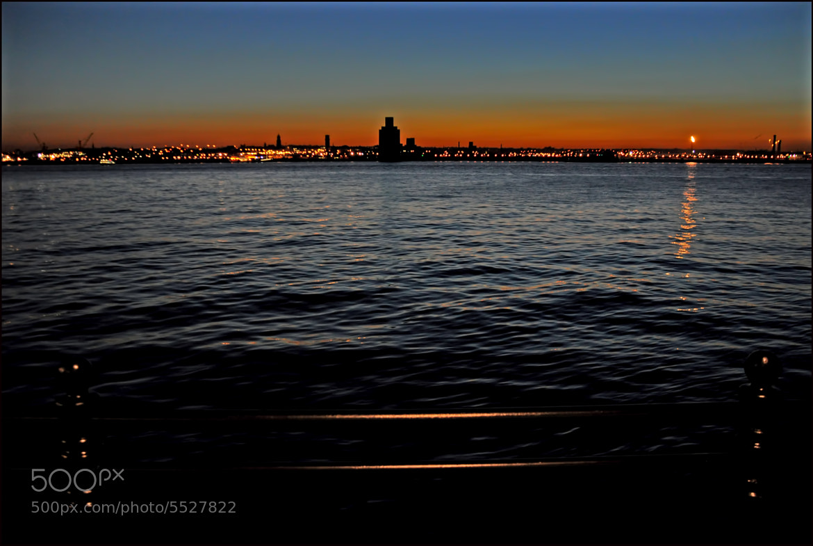 Photograph sunset over the mersey by Raymond Paul on 500px