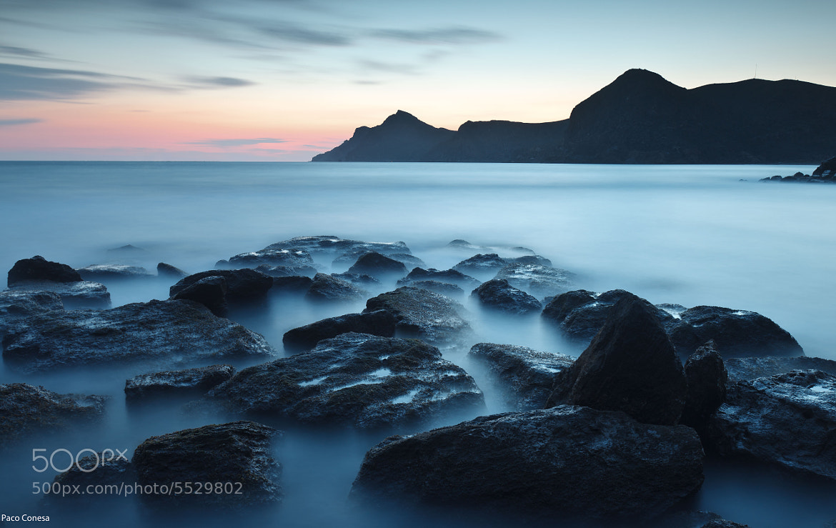 Photograph Blue stone by Pacoconesa on 500px