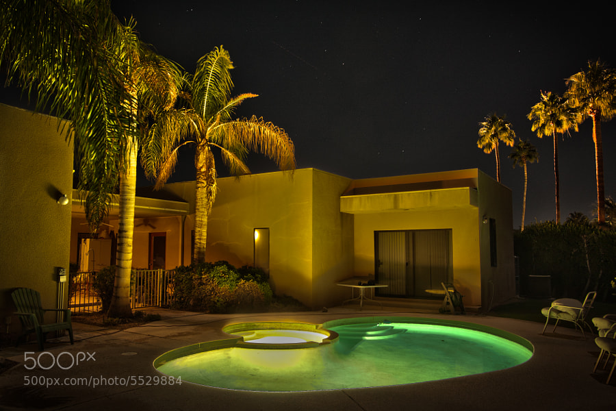 My parent's home in Palm Springs!