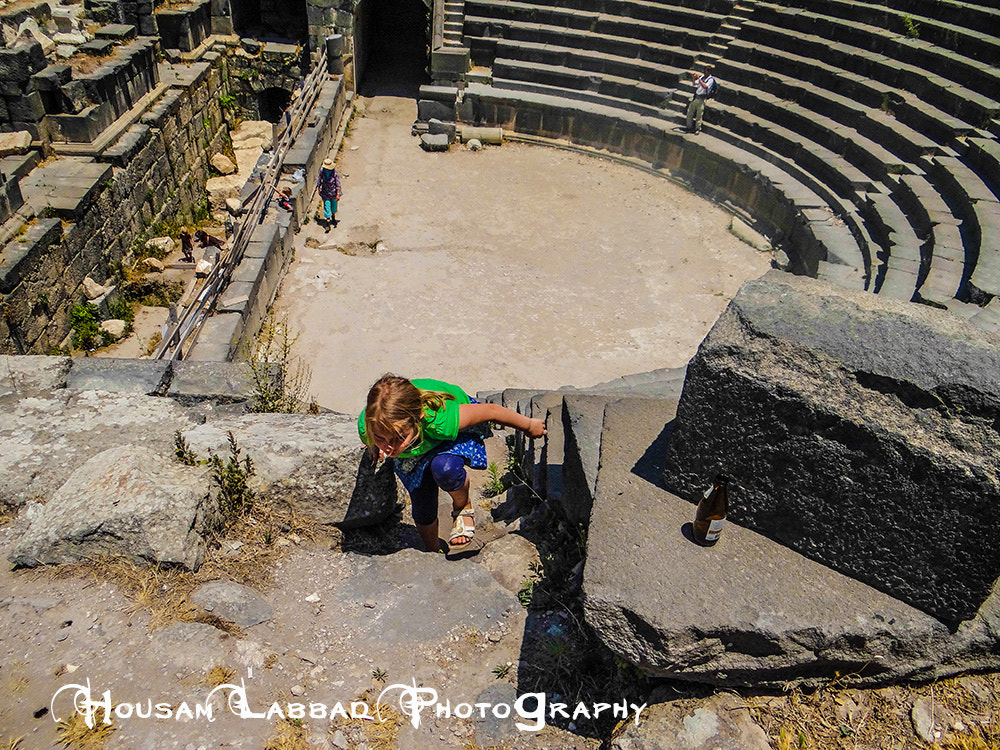 Photograph Wee girl at the Greek/Roman/Bizantium theater by Housam A Labbad on 500px
