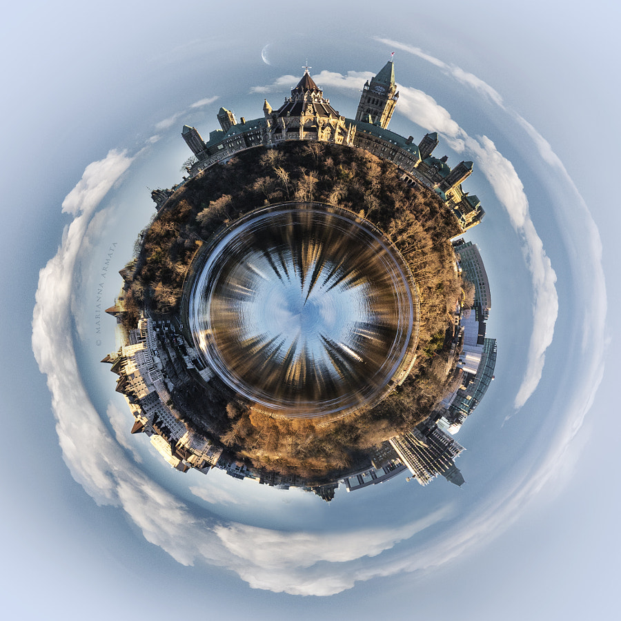 Ottawa: the center of our little (Canadian) planet