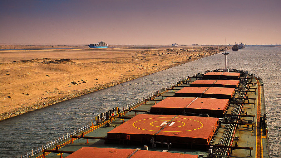 Photograph Suez Canal by Artur Brandys on 500px