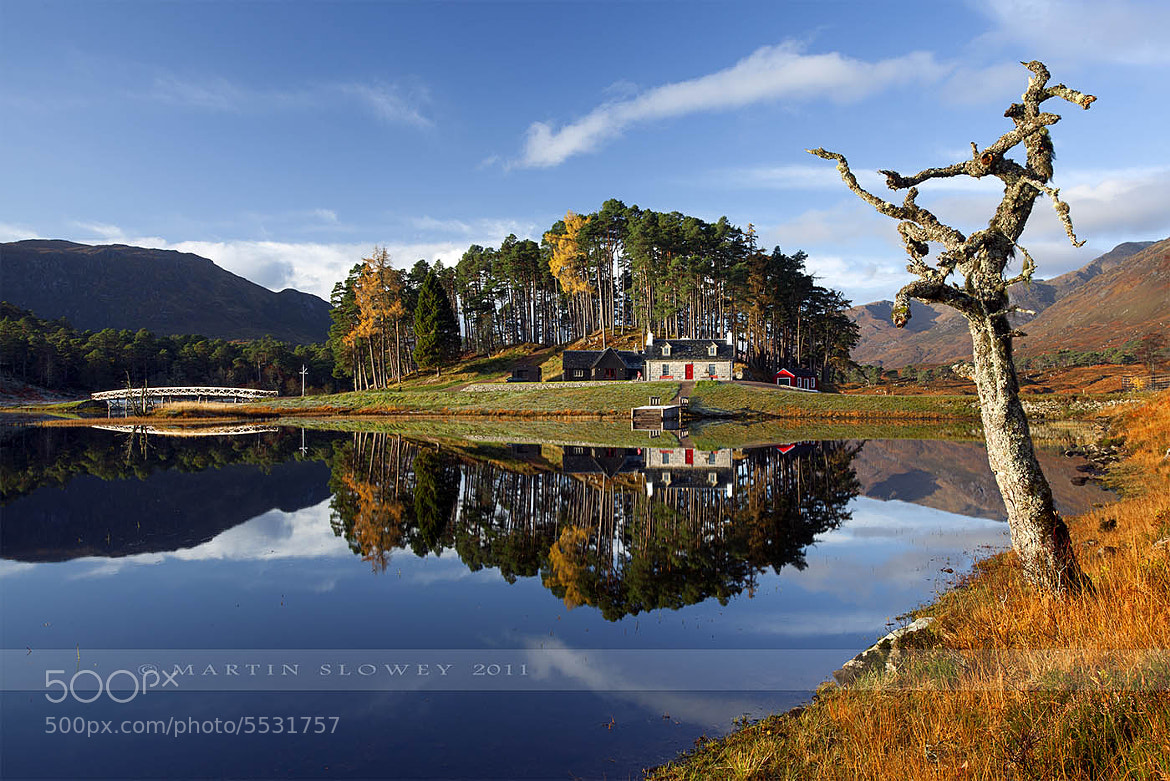 Photograph Glen Affric Reflections by Martin Slowey on 500px
