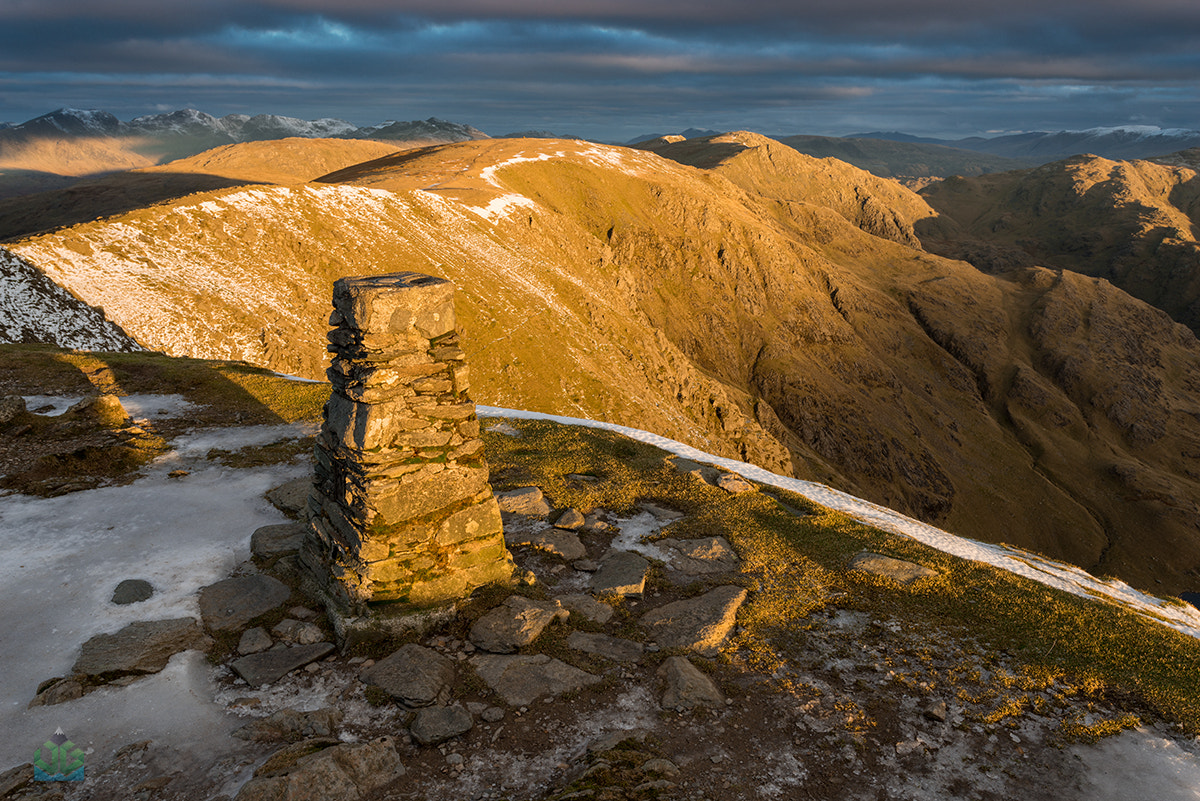 Photograph Old Man Of Coniston Summit by James Grant on 500px