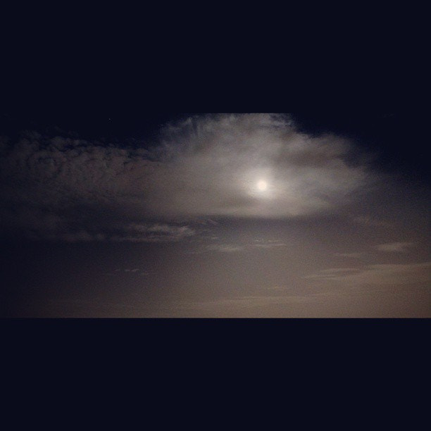 Photograph The moon in a Cloudy night. by Ahmad Jamal Awad on 500px