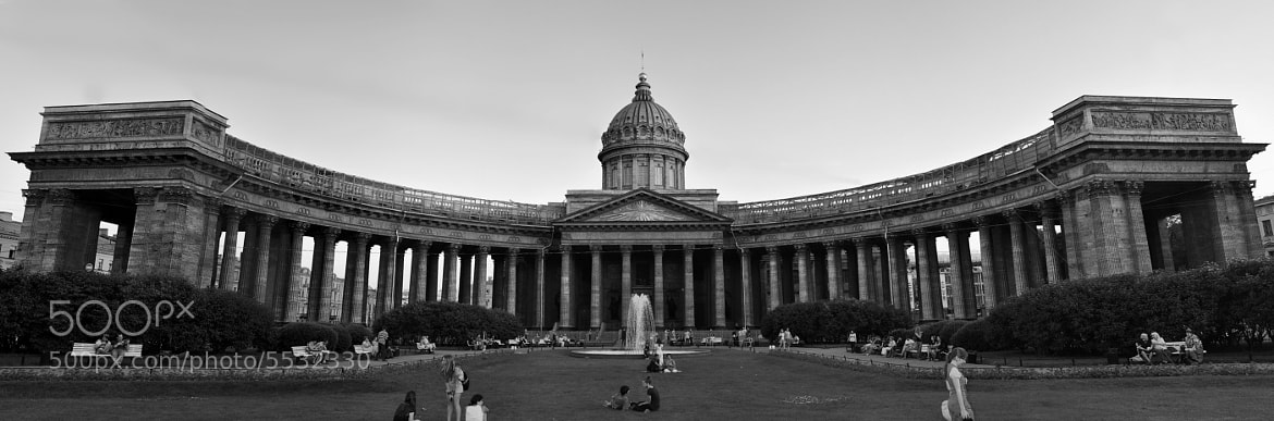Photograph Kazan Cathedral, St. Petersburg by Murat Kaban on 500px