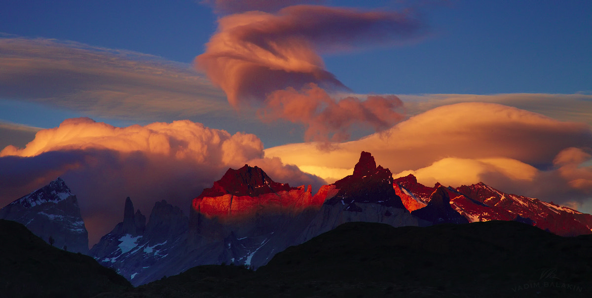 Photograph Torres del Paine sunset by Vadim Balakin on 500px