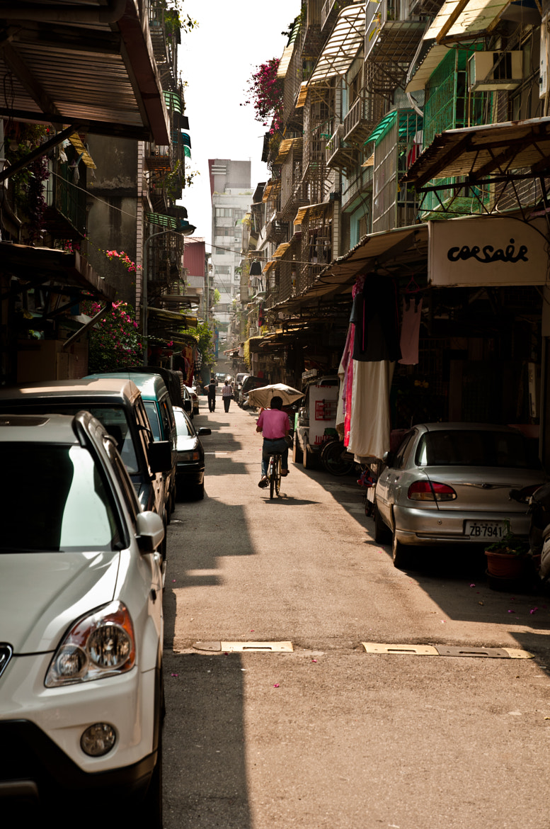Photograph A street with bike by Benny Fei on 500px