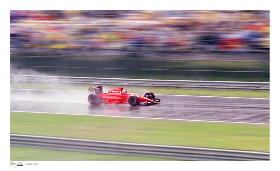 Andrea de Cesaris - Dallara Judd - Le Circuit Gilles Villeneuve