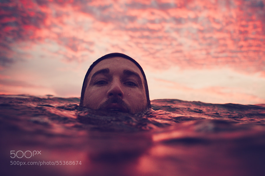 Photograph Swimming In Fire by Daniel Kuras on 500px