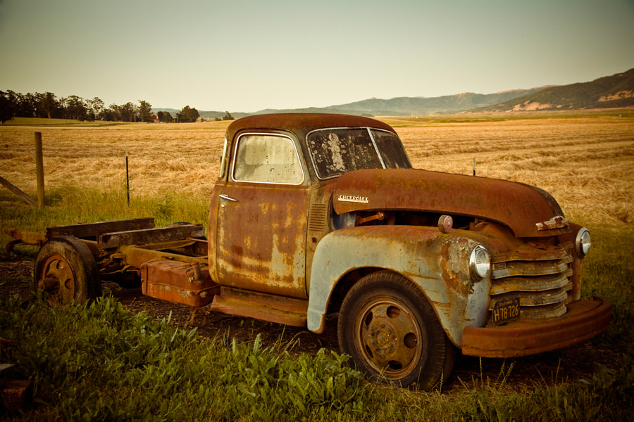 Photograph Sonoma Truck by Jack Booth on 500px