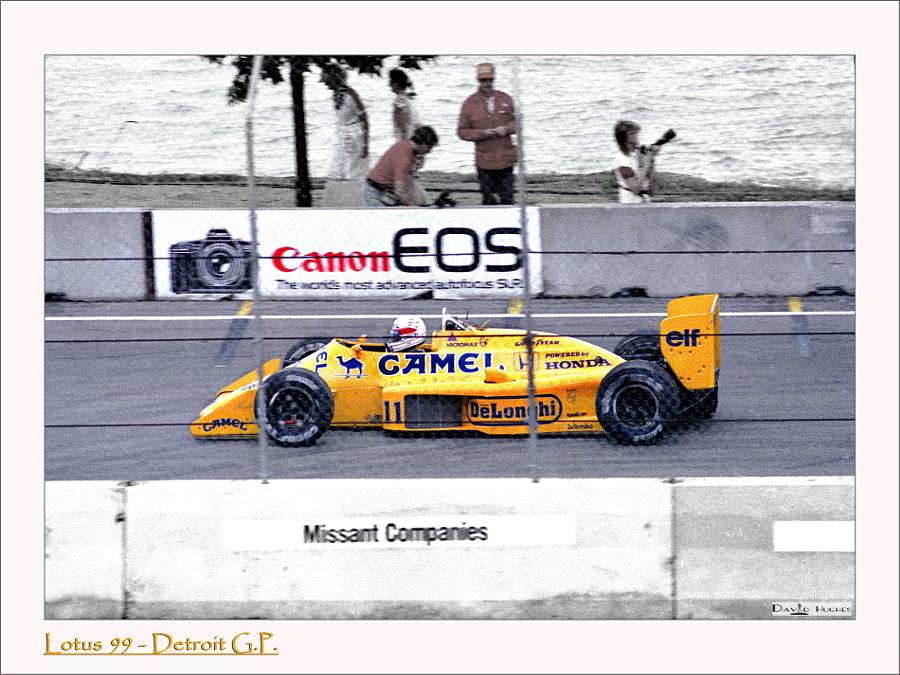 Satoru Nakajima - 1987 Detroit GP