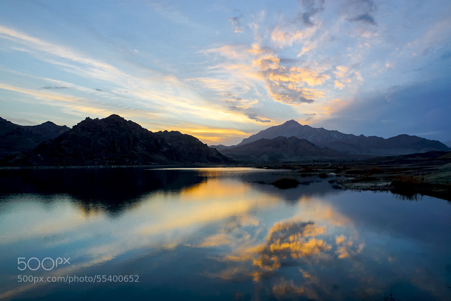 Photograph ~Lake at sunset~ by S'Mojtaba Hosseini on 500px