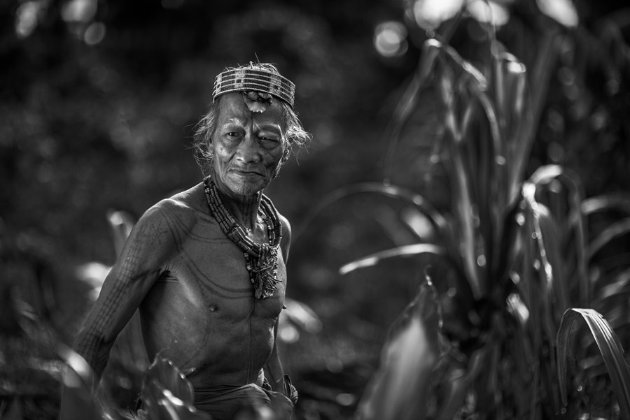 Gobbaik Toikot, the mentawai shaman from Siberut Island Indonesia.