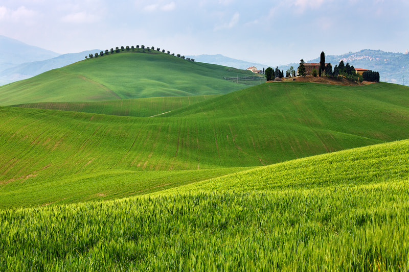 Photograph Tuscan Hills by Martin Rak on 500px