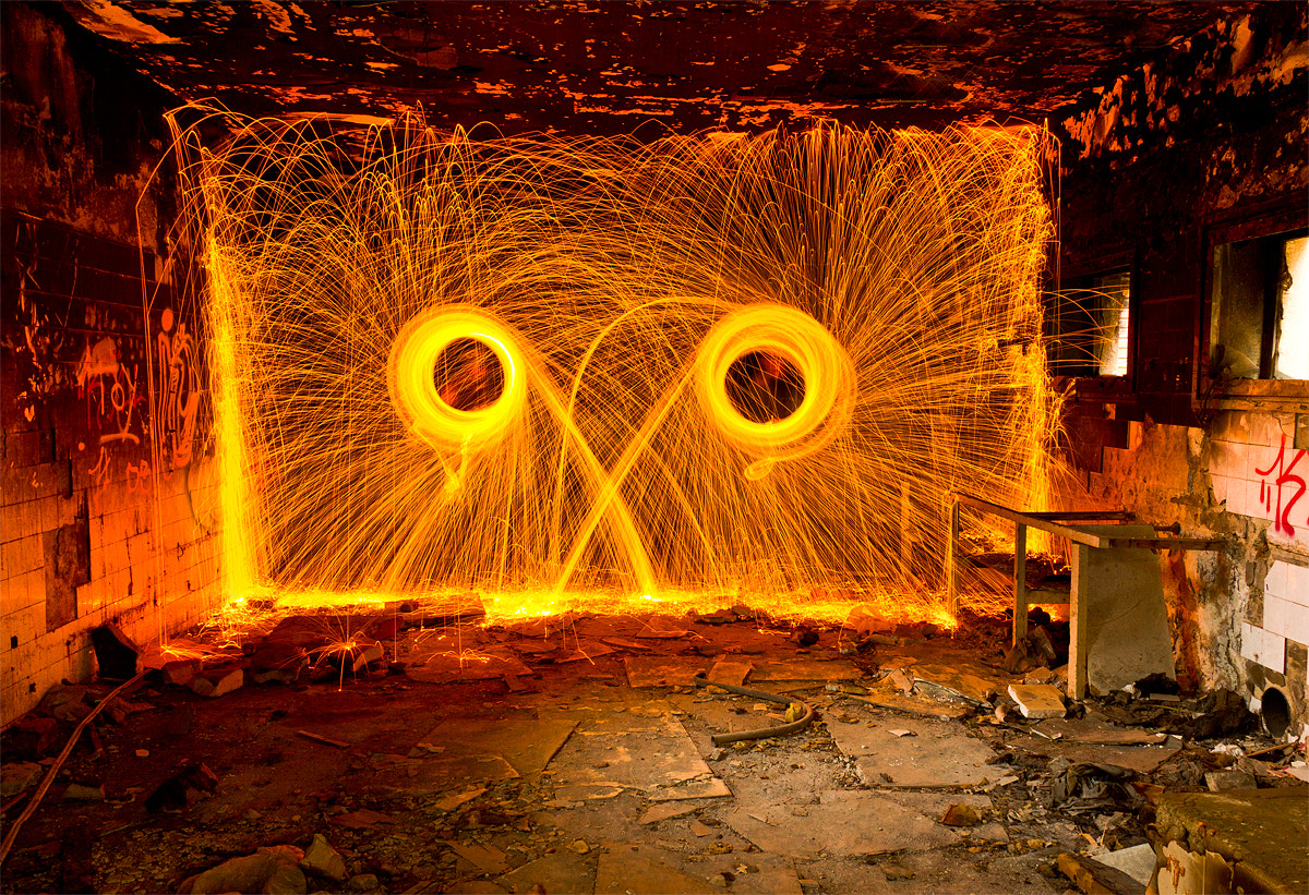Photograph Fire face by Ramon Rosa on 500px