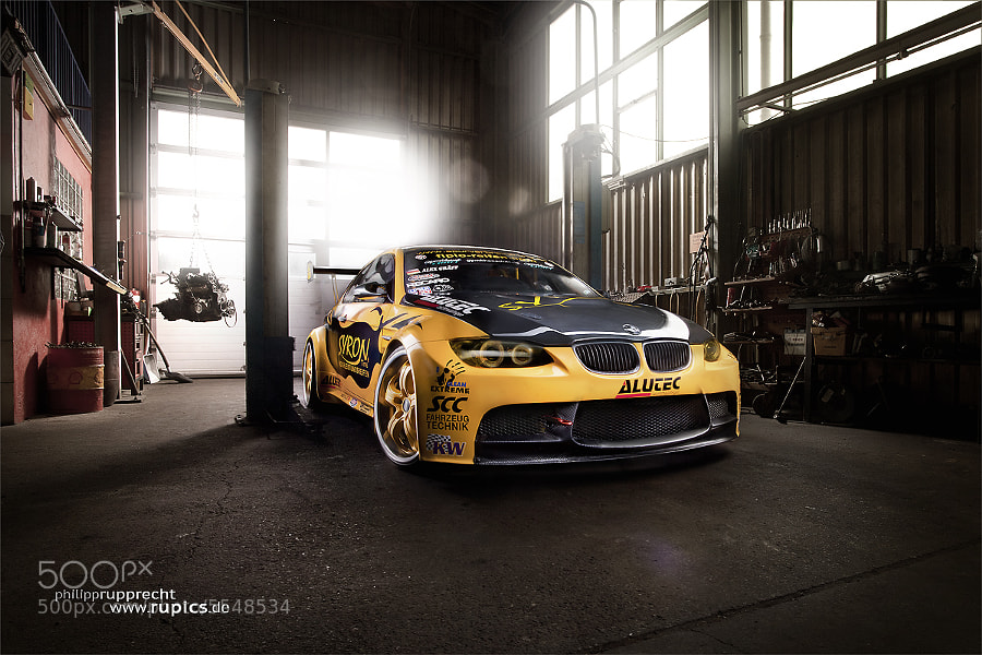 Photograph BMW M3 GT2 E92 Alexander Gräff vorn full res rupics www.rupics. by Philipp Rupprecht on 500px