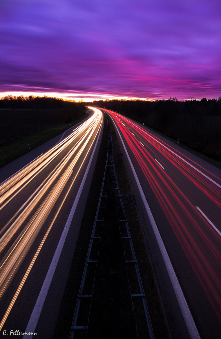 Photograph The German Highway by Constantin Fellermann on 500px