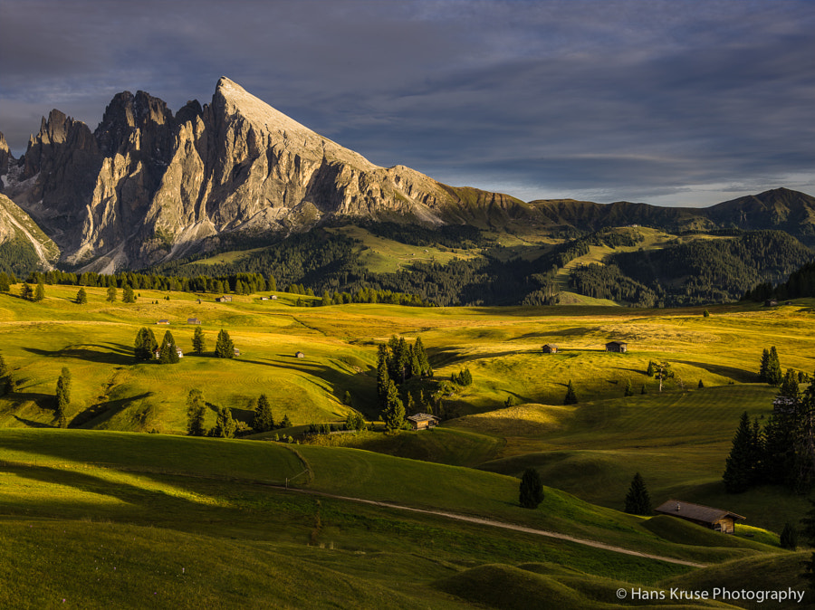 This photo was shot the day before the Phase One Dolomites September 2013 photo workshop. The photo was shot with a Phase One IQ160 on a DF+ camera with the Schneider Kreuznach 75-150 lens.