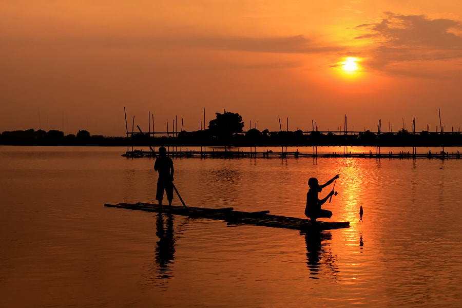 Photograph Catching Fish by Jeffry Surianto on 500px