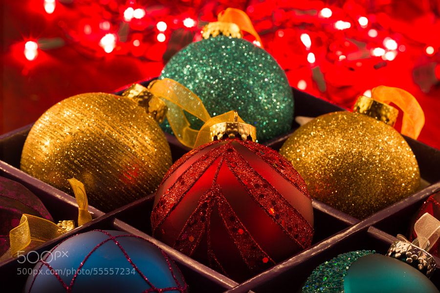 Festive Ornaments by Lisa Bettany on 500px.com