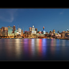 I captured this twilight view of Sydney on 18/12/2013, which was the first photography outing for me in over six months.  It has been an even longer time since I photographed the Sydney skyline, and the presence of a substantial number of cranes at Barangaroo, which is now a major development site, is testimony to the changing face of Sydney.