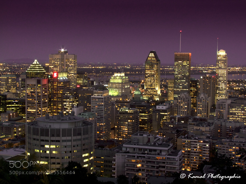 Photograph Montreal Skyline at Night by Kamal Photography on 500px