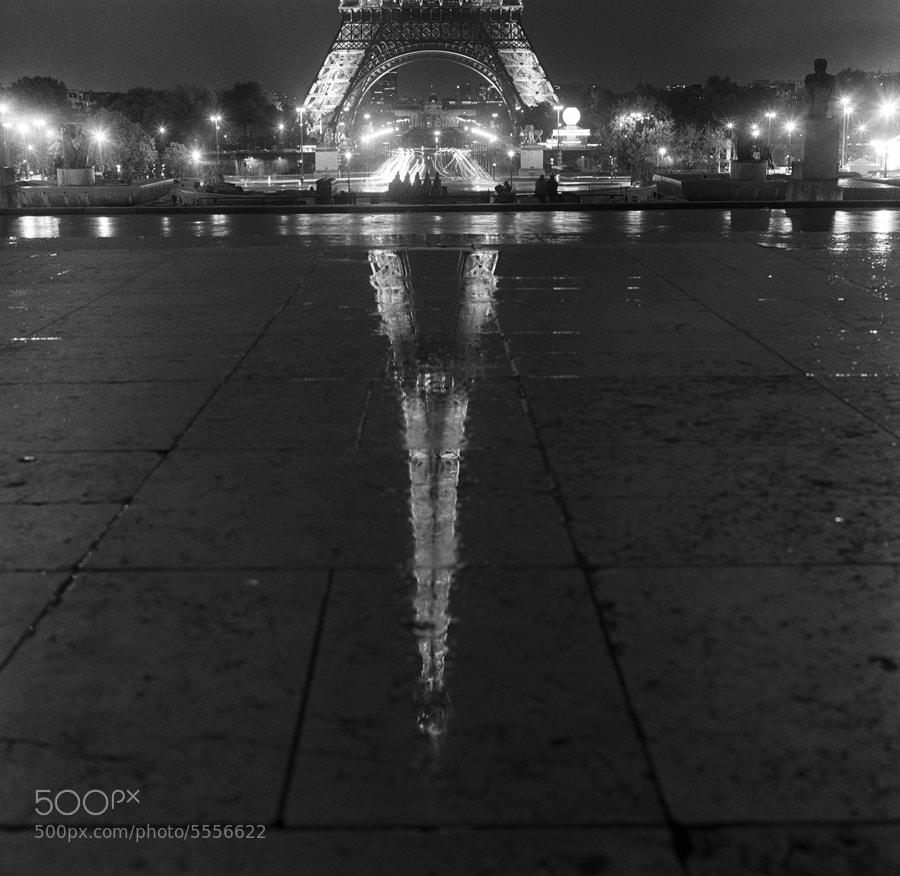 Photograph Tour Eiffel depuis le Trocadero by Zeb Andrews on 500px