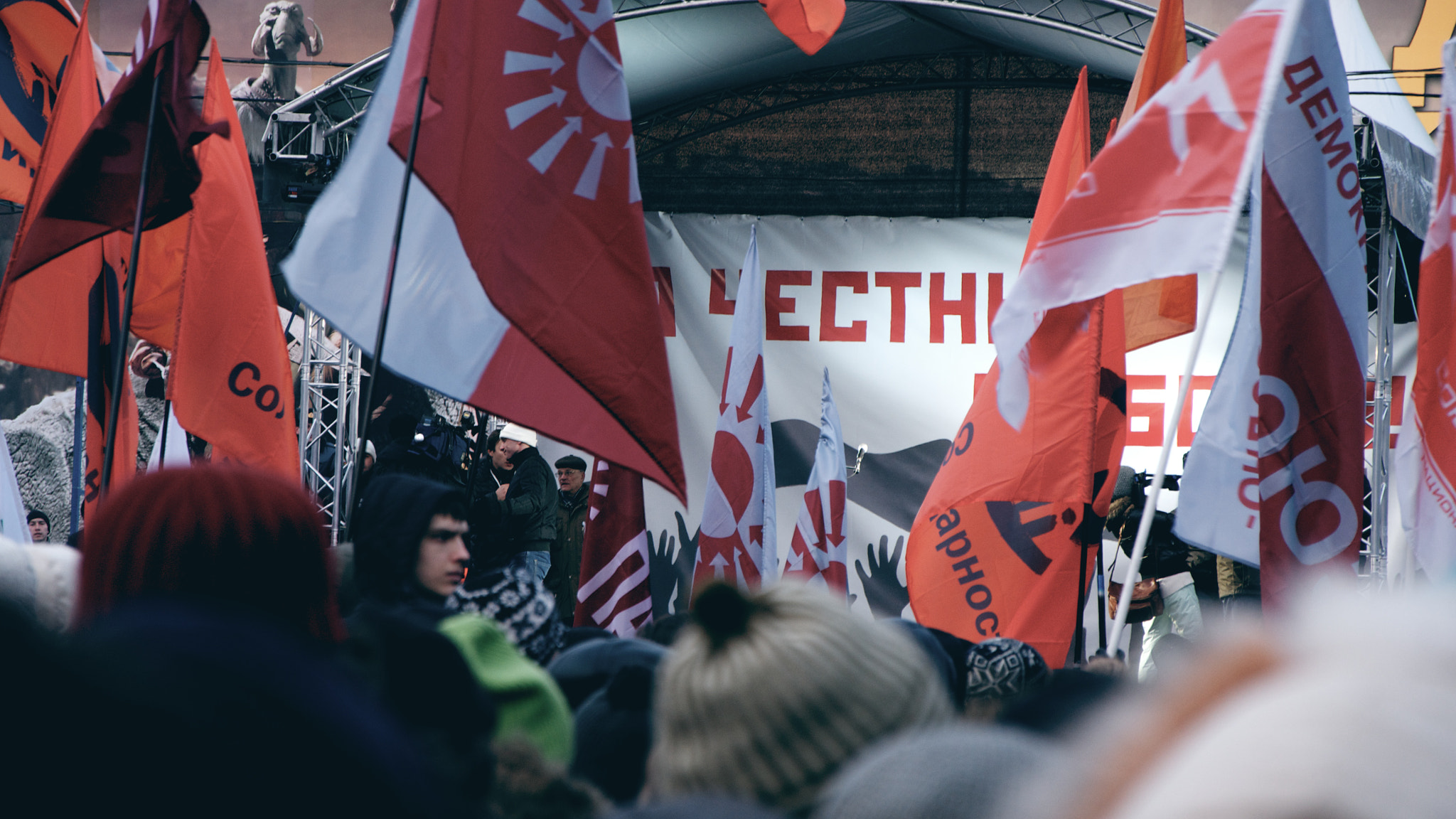 Photograph Protest meeting in Moscow by Kirill Kurashev on 500px