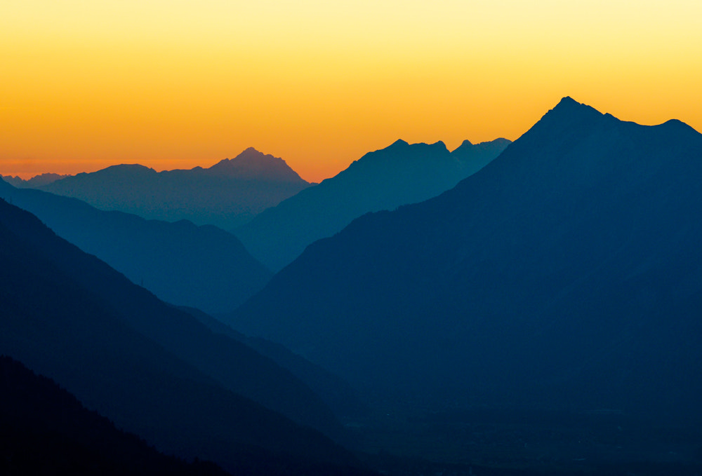 Photograph Sunset in Austria by Urs Bachmann on 500px