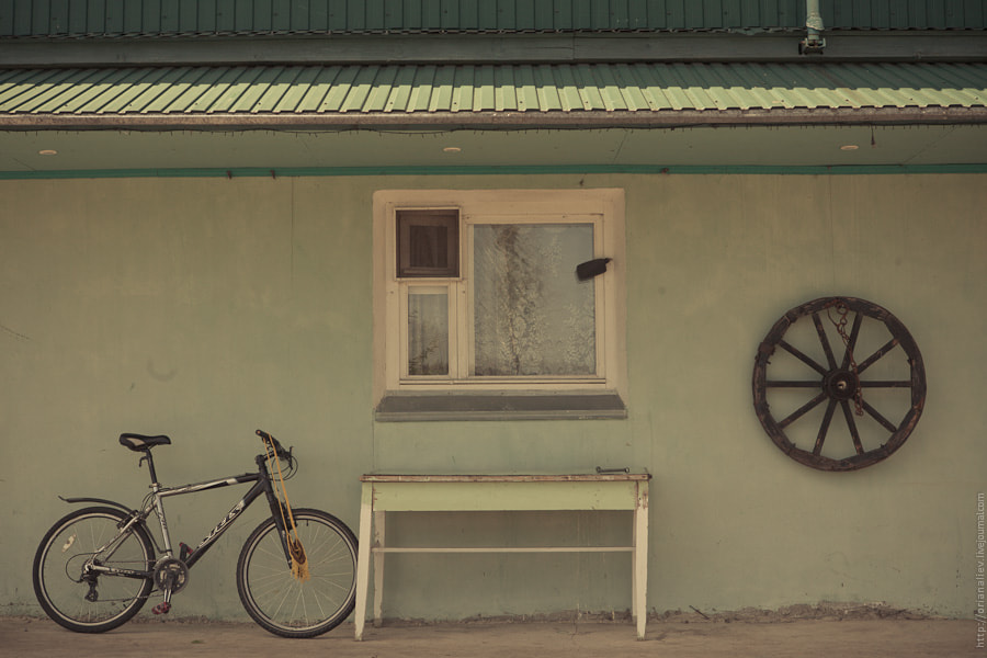 Photograph Wheels and window by Orian Aliev on 500px