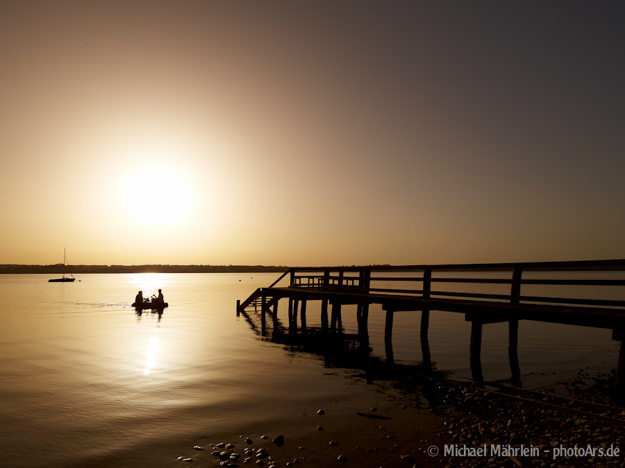 Photograph Sunset in the boat by Michael Mährlein on 500px