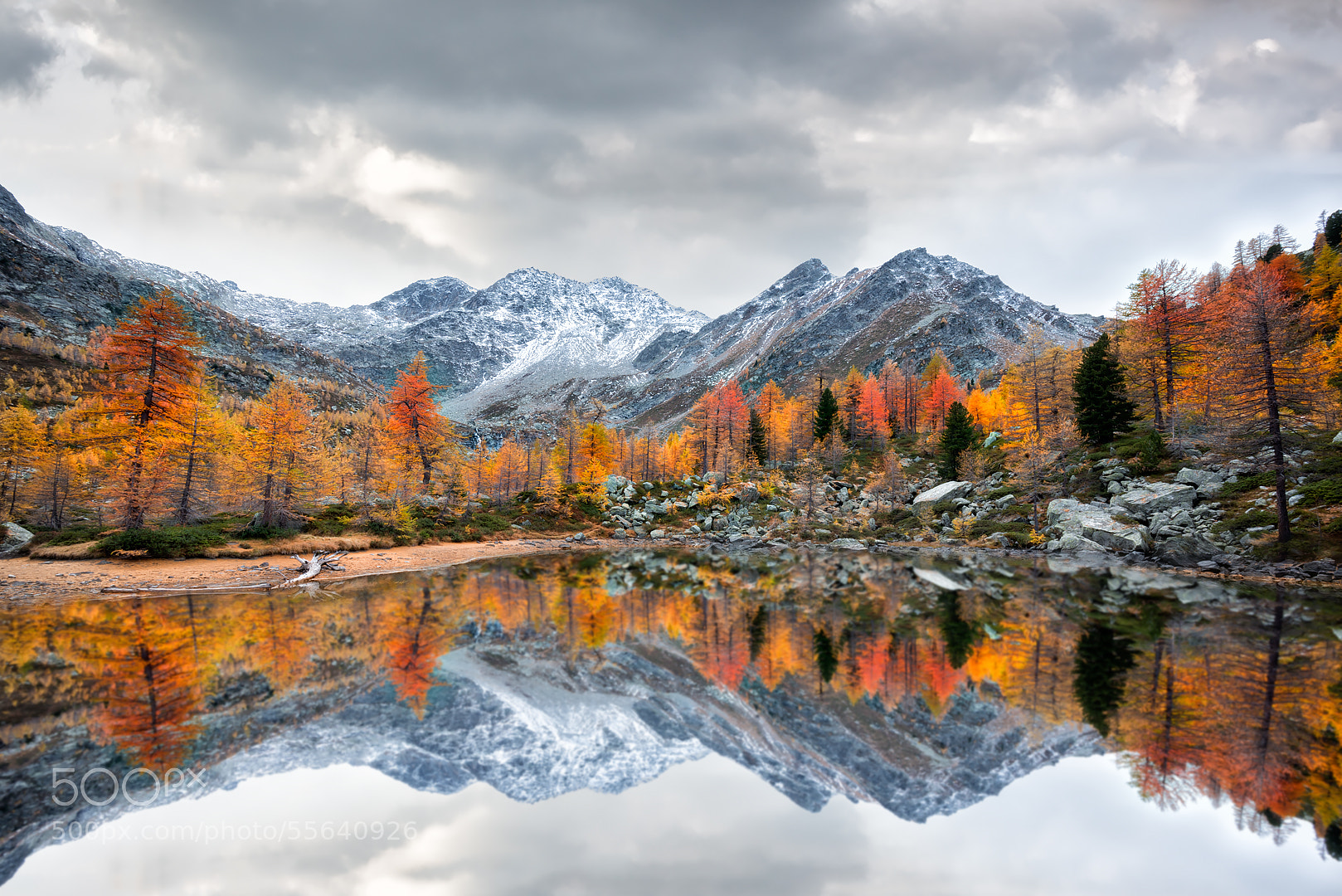 Photograph Arpy Lake Reflection by Marco Carmassi on 500px