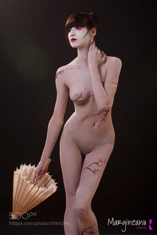 Photograph Geisha by Ioan  on 500px