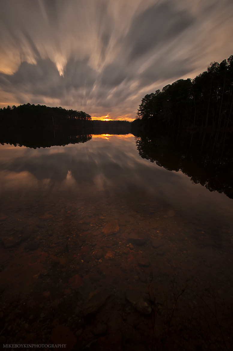 Photograph Lake Johnson Sunset by Mike Boykin on 500px