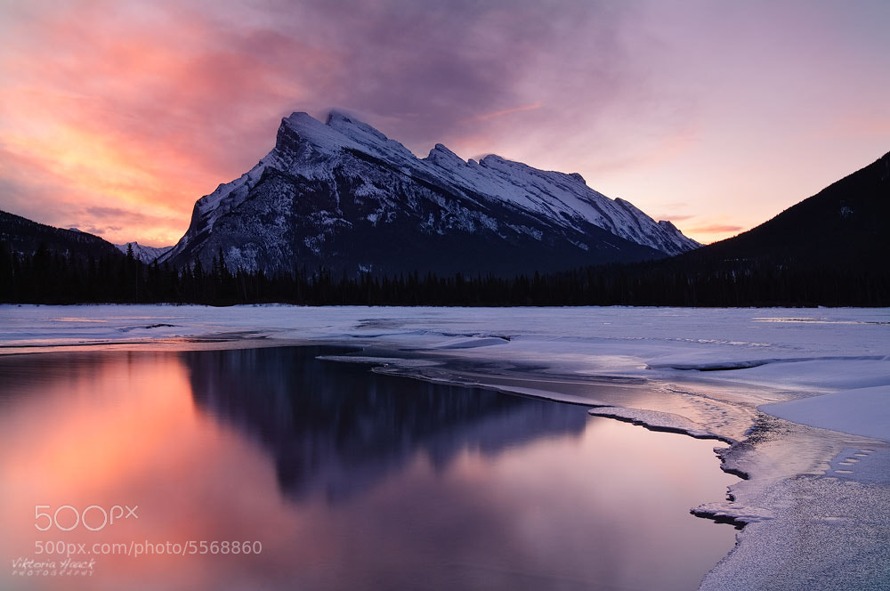 Photograph Vermillion Dawn by Viktoria Haack on 500px