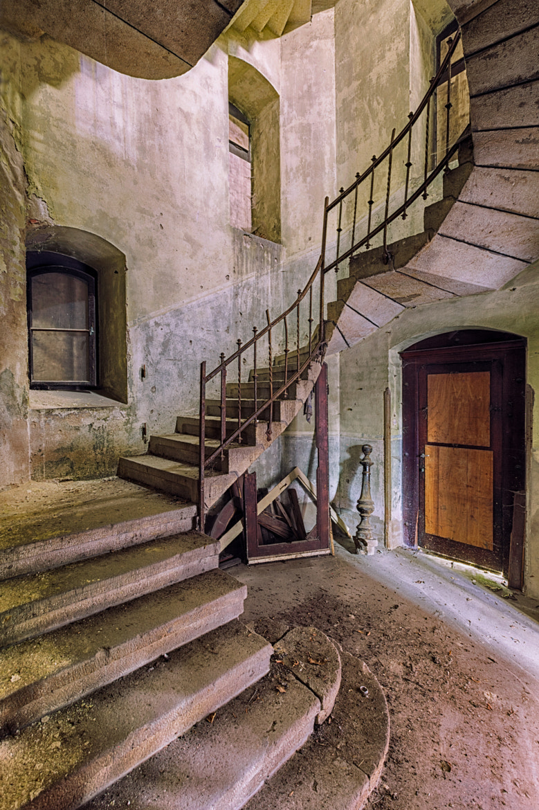 Photograph abandoned staircase by Christian Richter on 500px