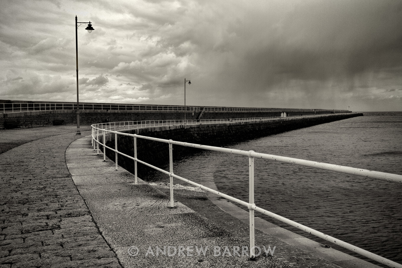 Photograph Rain at the far End by Andrew Barrow ARPS on 500px