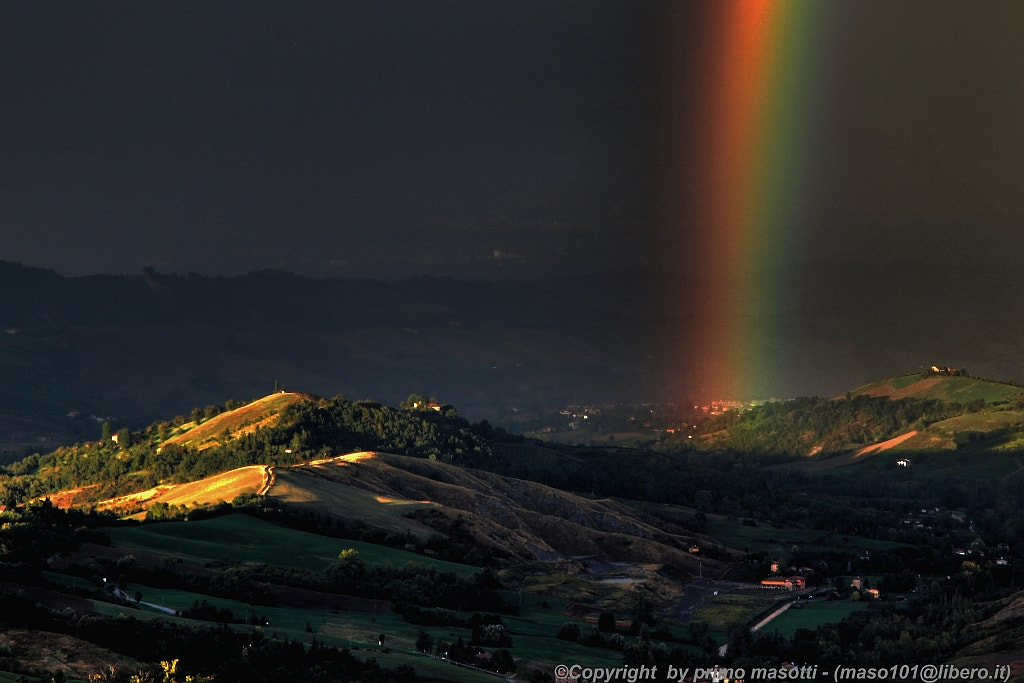 Photograph spring time with rainbow - Ciano (Zocca modena italy) - 5625 - DVD 14 by primo masotti on 500px