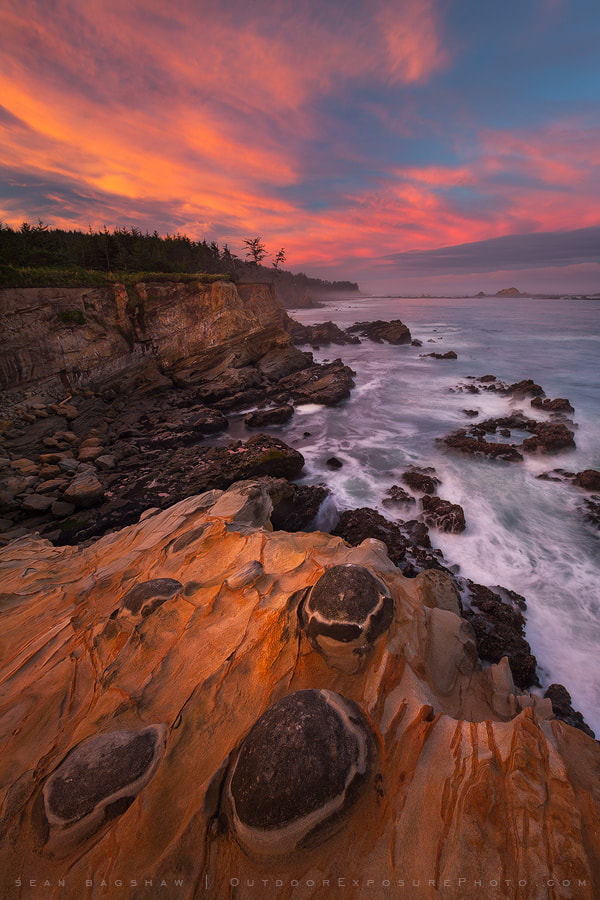 Photograph The Two Guardians of Cape Arago by Sean Bagshaw on 500px